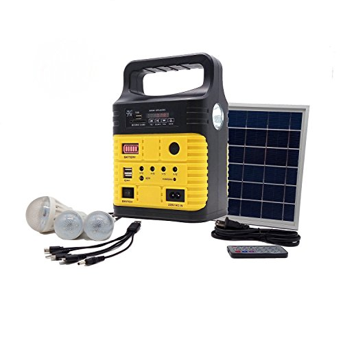 Portable Solar Generator With Solar Panel Included 3 Sets